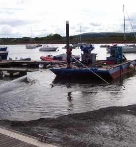 Devon Marina succeeds with DIY dredging operation