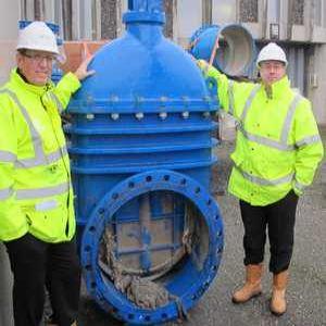 Valve replacement boosts Littlehampton pumping station