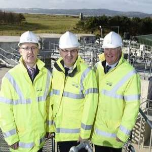 NI Water's new state-of-the-art Magligan WwTW gets a visit from Kennedy