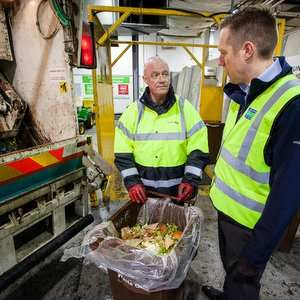 NEC food waste powers Severn Trent's Coleshill STW