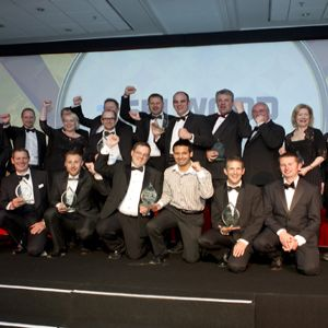 Minworth Gas-to-Grid project team triumphs at water 'Oscars'