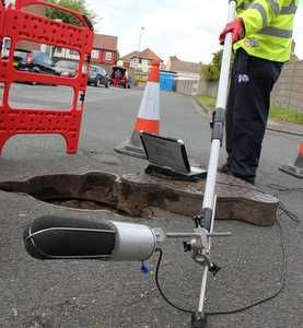 Echo-location technology improves Thames sewer inspections