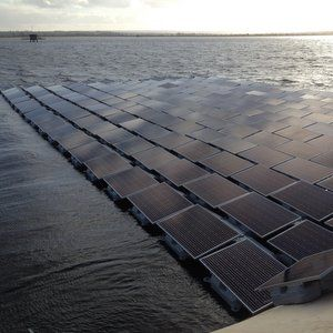 Thames Water reservoir to house Europe's largest solar panel array
