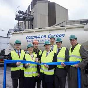 Chemviron Carbon opens new plant in Midlands