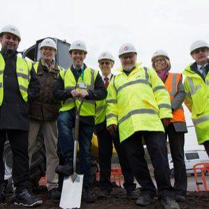 Ground breaking ceremony for £95M Derby flood defence scheme