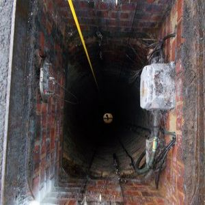 Hi-tech camera used to survey Brighton sewer shaft