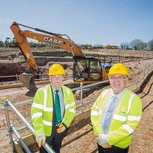 Works starts on SWW's new £60M Mayflower WTW