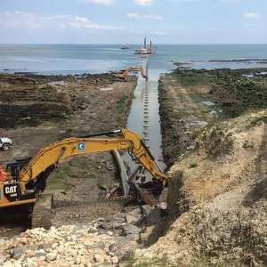 Yorkshire Water's £7M sea outfall pipe scheme nears completion