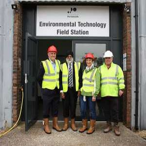 University opens research station at Southern sewage works