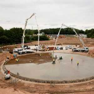 Chorley WwTW project team carry out 18-hour concrete pour
