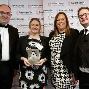 Severn Trent Water picks up apprenticeship award