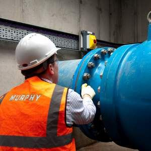 Murphy works on next phase of Thames' leak prevention scheme