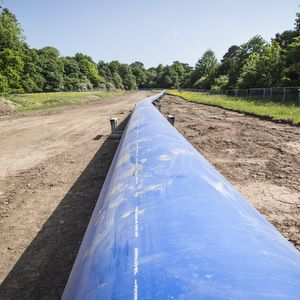 GPS produces new pipe size for UU mains scheme