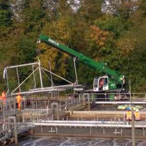Off-site aeration project completed at Thames Water's Dorking STW