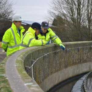 MP visit for Severn Trent phosphorus trials