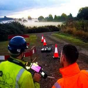 Anglian Water steps up drone leakage trial