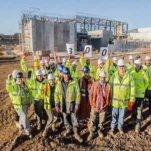 New £60M treatment works for Plymouth takes shape