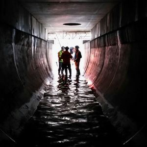 Severn Trent Water completes first EVA tunnel