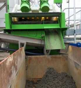 Grit removal from wastewater reveals digester efficiencies
