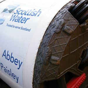 Scottish Water gets Paisley sewer underway