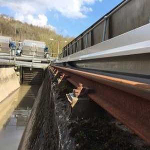 Cable management system provides solution for Severn Trent grit