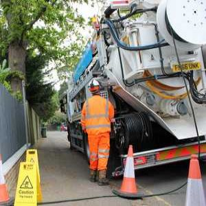 Jet vac tanker tackles concrete in sewers