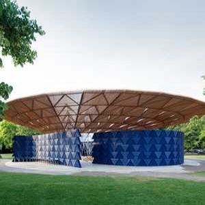 Rainwater storage at centre of new Serpentine Pavilion