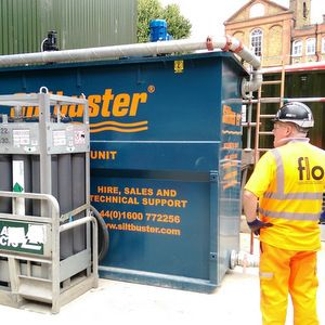 FLO uses new type of water treatment unit on Northern Line scheme