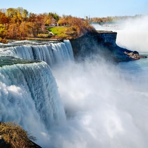 Wastewater treatment process blamed for 'inky' water at Niagara Falls