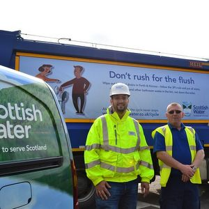 Scottish Water gets blockage message across on council bin rounds