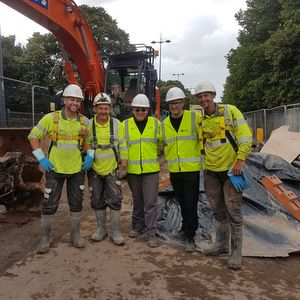 Amey completes Liverpool sink hole repair