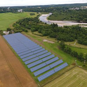 Scottish Water completes largest solar panel project to date