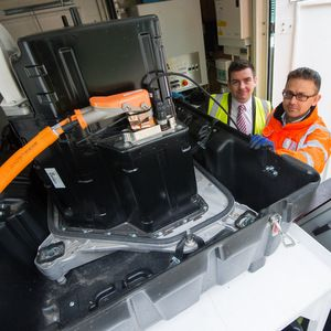 Anglian Water trials electric vehicle batteries for energy storage
