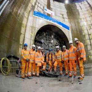 Tunnel construction complete on Scotland's biggest sewer