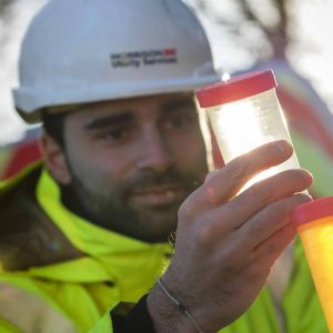 Welsh Water uses ice pigging for mains cleaning programme