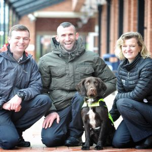UU recruits UK's first sniffer dog to find leaks