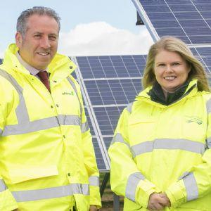 Northern Ireland Water opens £7M solar farm