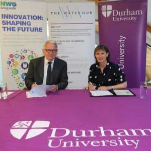 Durham University and Northumbrian team up to tackle water challenges