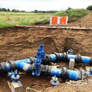 Scottish Water installs £24M strategic water main