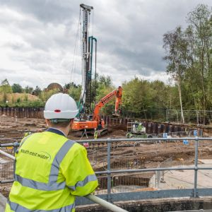 South East Water's £22M WTW expansion hits first milestone