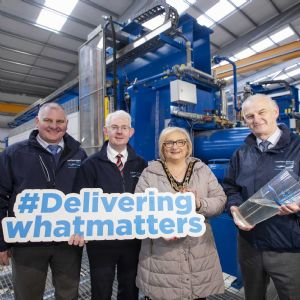 NI Water completes £4M Caugh Hill WTW project