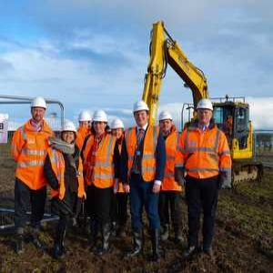 Work starts on £11M water treatment works for Berwick