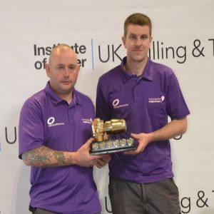 Anglian Water team claim back Drilling and Tapping trophy