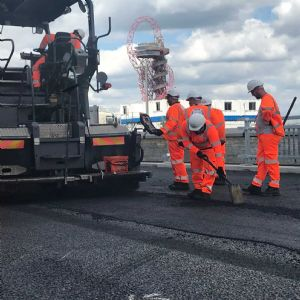 Thames uses recycled plastic for reopened cycle route