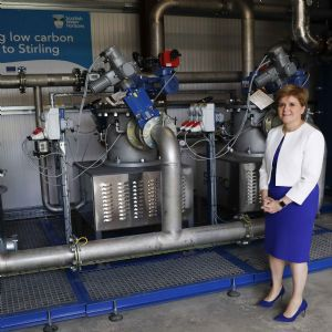 Ground-breaking Scottish Water Horizons energy hub launched