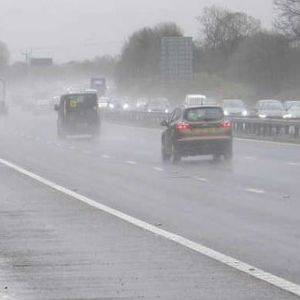 Sustainable drainage system cleans up stretch of M56