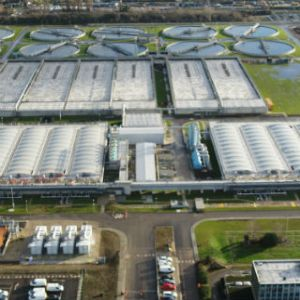 Thames Water completes sewage treatment works upgrade
