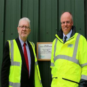 Tullich Water Treatment Works officially opens