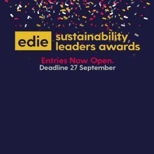 edie's Sustainability Leaders Awards - entries close next week