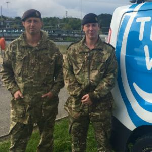 Swindon sewage works hosts warfare exercise